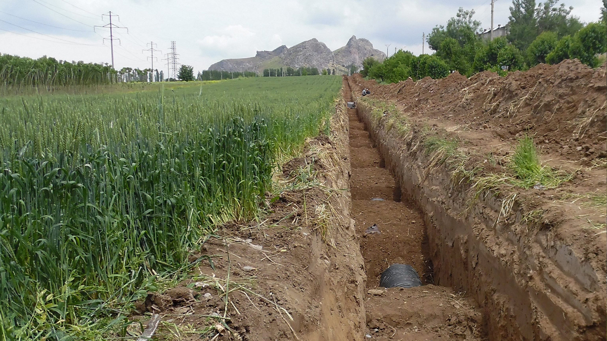 Renovation of drinking water and wastewater infrastructure in Osh, Kyrgyzstan