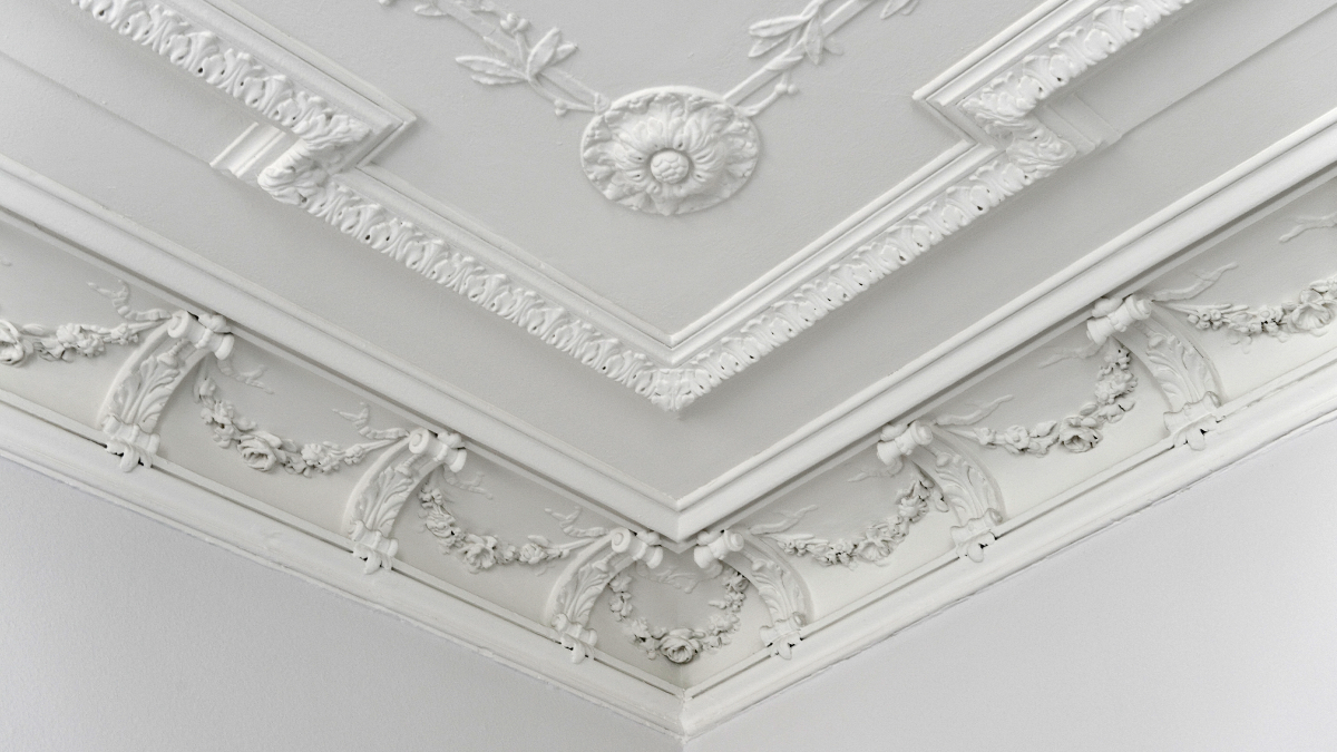 Preserving the delicate stucco work