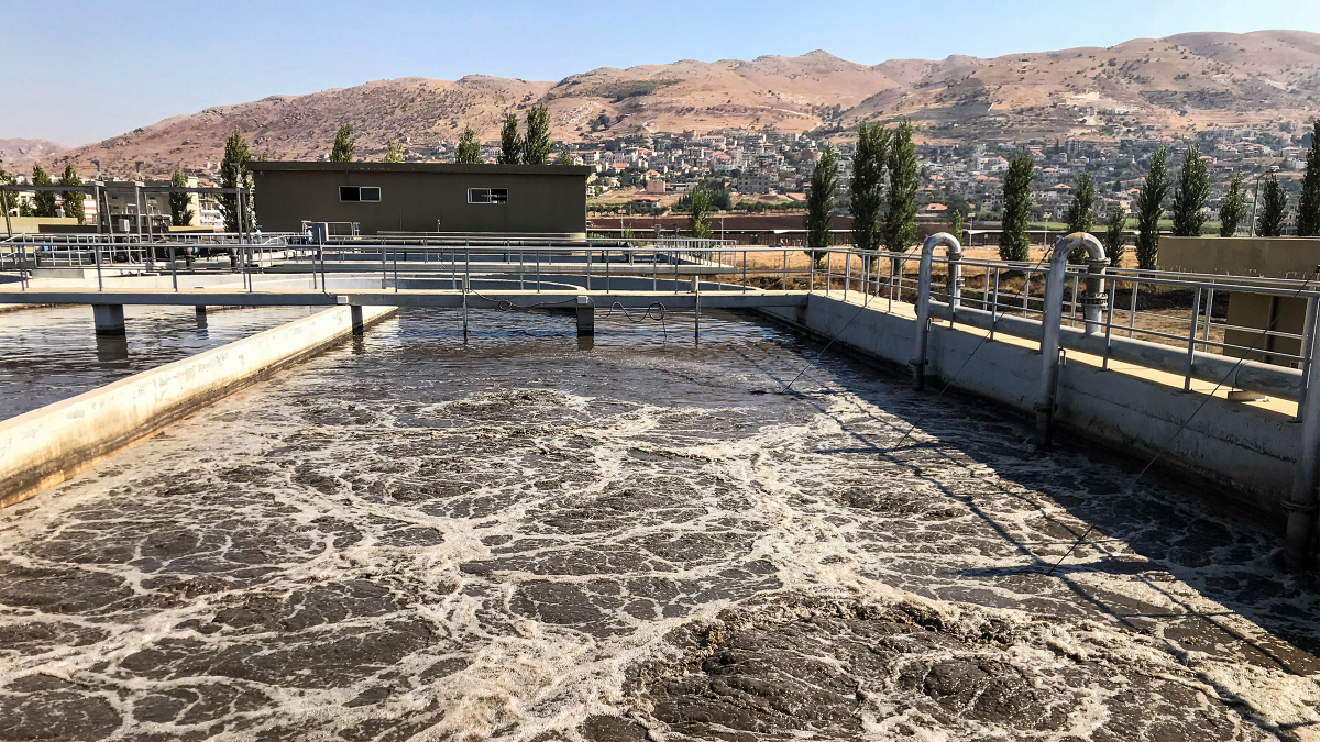 Wastewater treatment plant in Jub Jannine