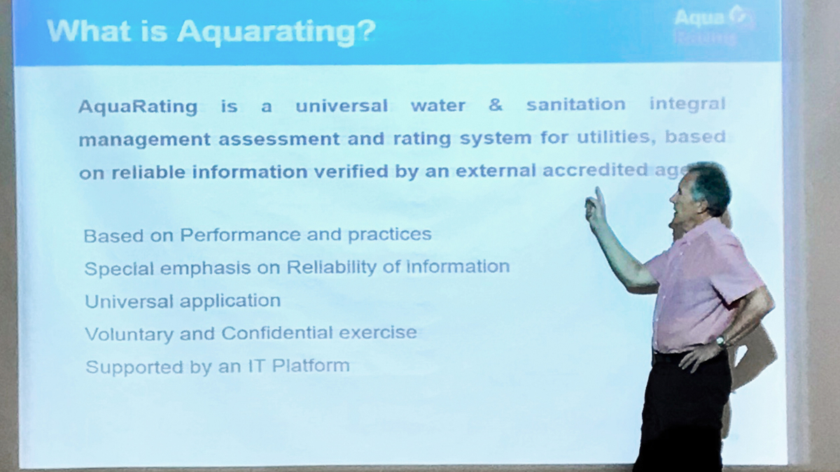 Kick-off workshop for AquaRating application
