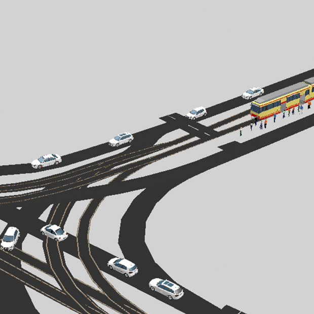traffic flow simulation