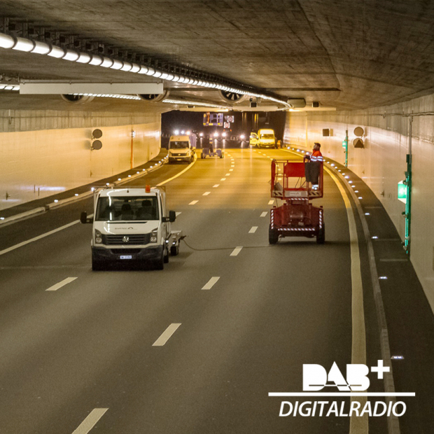 DAB+ Digitalradio in Nationalstrassentunneln